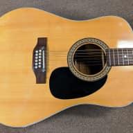1974 Alvarez Model 5021 12 String Acoustic Guitar, Solid Spruce, Mahogany, MIJ, Light Strings for sale