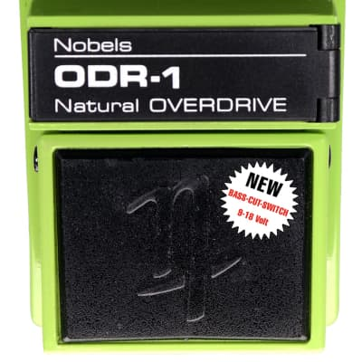 NOBELS ODR-1 Natural Classic Overdrive Guitar Effect Pedal