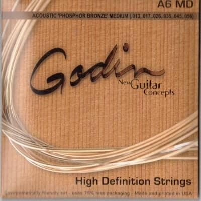 Godin A6 Md   Corde Per Chitarra Acustica   Phosphor Bronze