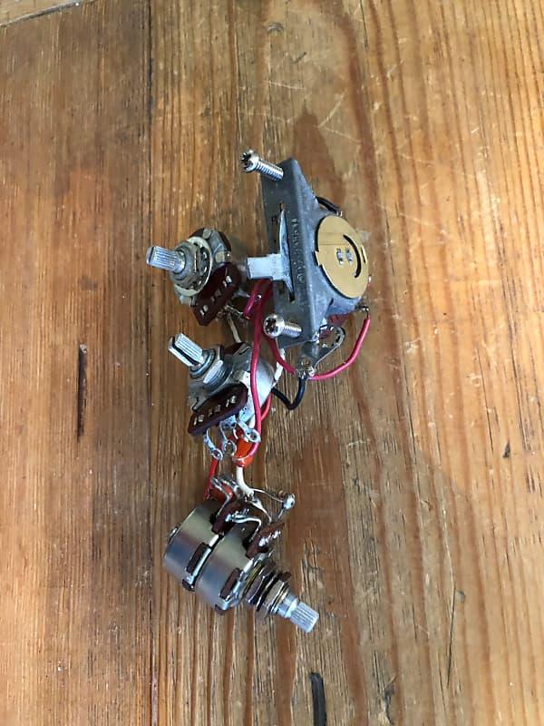 fender strat plus wiring harness 1989 switch tbx pot reverb. Black Bedroom Furniture Sets. Home Design Ideas