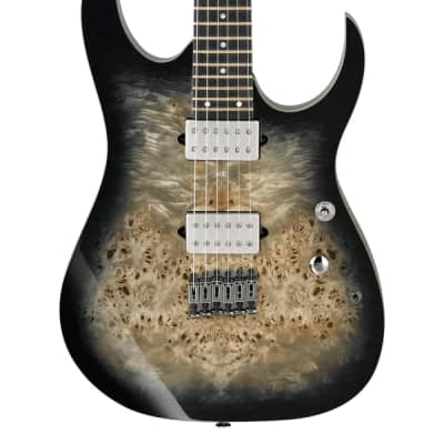 NEW Ibanez Premium RG1121PB - Charcoal Black Burst (273)