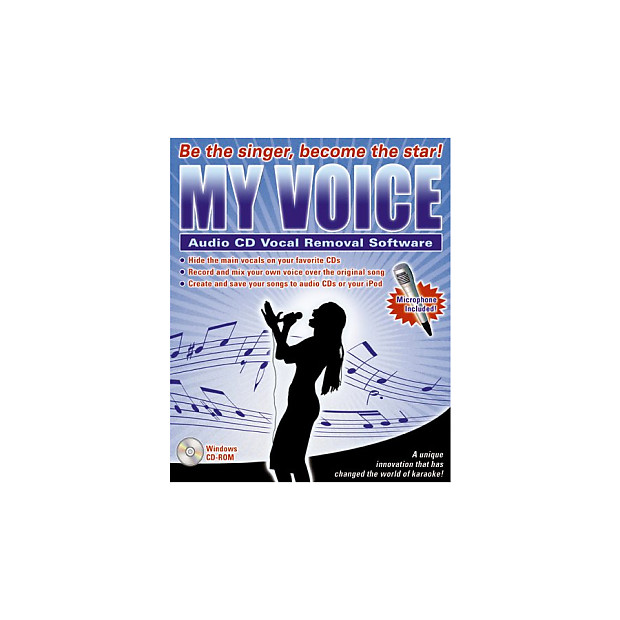 IPE Music My Voice Audio CD Vocal Removal Software with Microphone