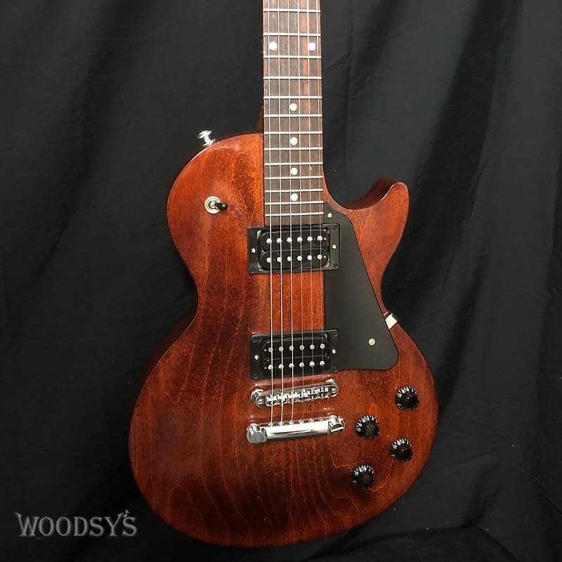 used gibson les paul studio faded 2018 woodsy 39 s music reverb. Black Bedroom Furniture Sets. Home Design Ideas