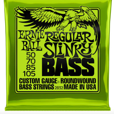Ernie Ball Regular Slinky Bass Nickel Wound Strings 2832