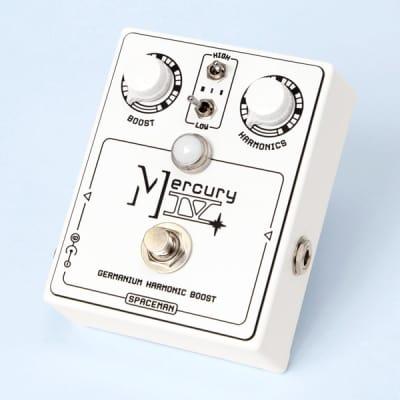Spaceman Mercury IV / Germanium Harmonic Boost (White on White Edition) image