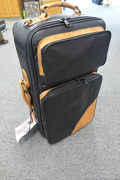 Gard Elite Compact Triple Trumpet Bag In Leather Reverb