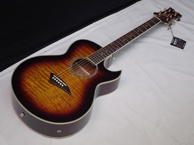 Dean Tradition AK48F Florentine Acoustic-Electric Guitar ...