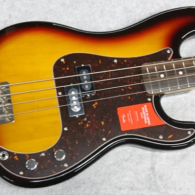 Fender Made in Japan Traditional 60s Precision Bass SN:4445 ≒3.75kg 2018 3CS for sale