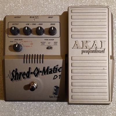 Akai Shred-O-Matic D1 w/box, manual, catalog & stickers for sale