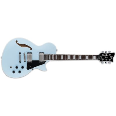 ESP LTD Xtone PS-1 Sonic Blue Semi-Hollow Electric Guitar + Free Gig Bag PS1 PS 1 X-Tone for sale