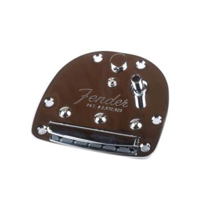 Fender Classic Player Jazzmaster/Jaguar Tailpiece Assembly (No Arm)