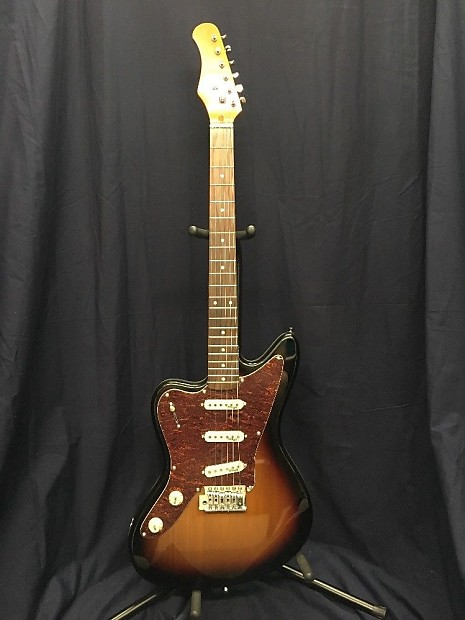 Stagg M350 Sunburst Left Handed Guitar Nos Reverb