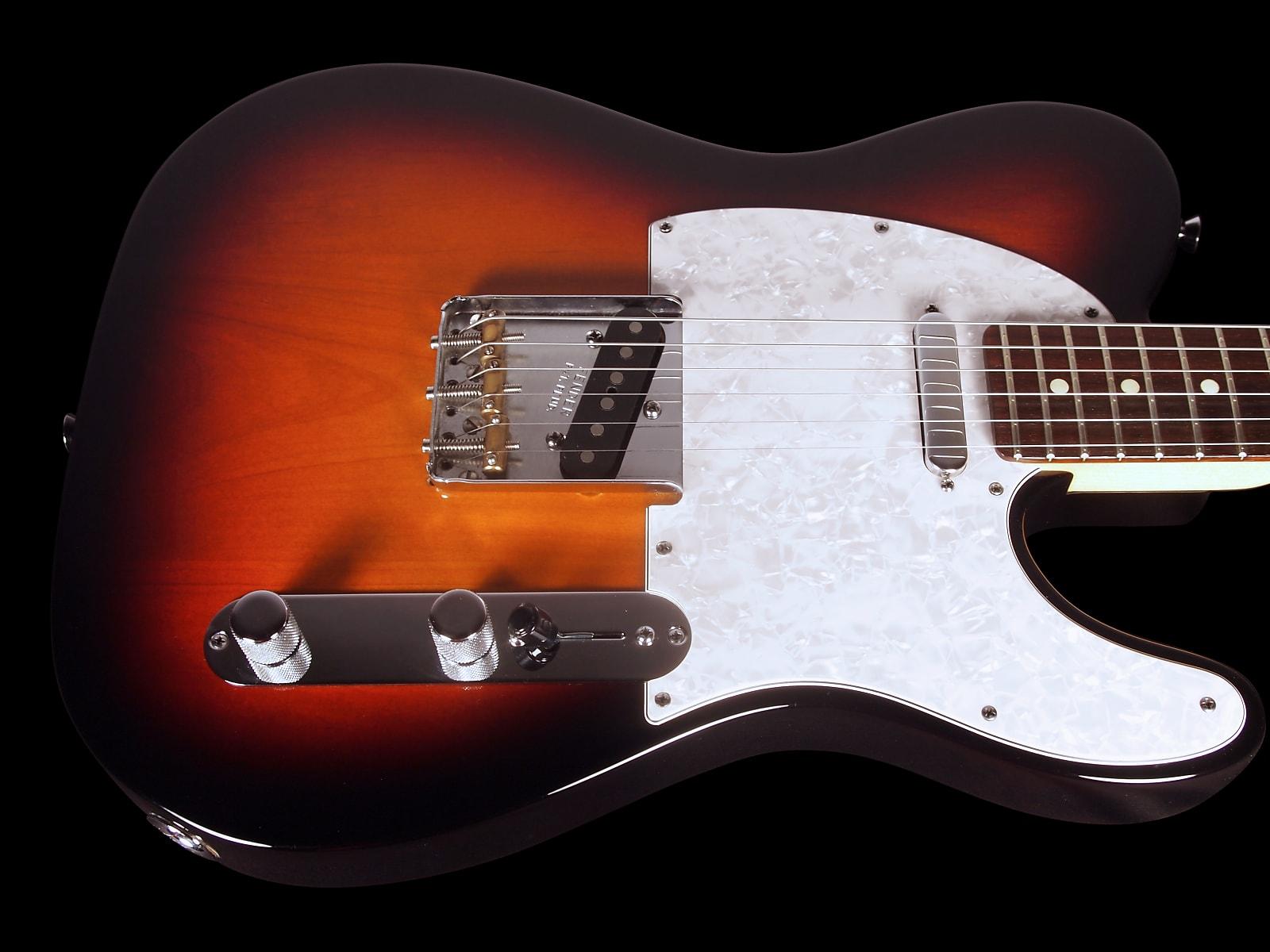 2011 Fender Telecaster American Standard USA Tele 3-Tone Sunburst ...