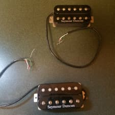 Seymour Duncan Pearly Gates Set - Black