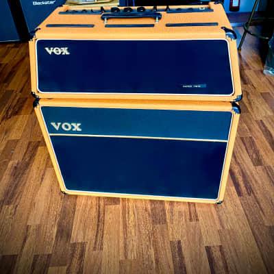 """Vox JMI  AC30 Super Twin Trapezoidal Head & 2x12"""" Silver Alnico    Orange"""