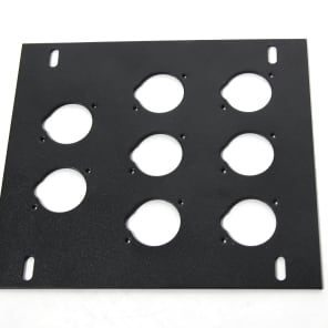 Elite Core Audio FB-PLATE8 Unloaded Plate for Recessed Floor Box
