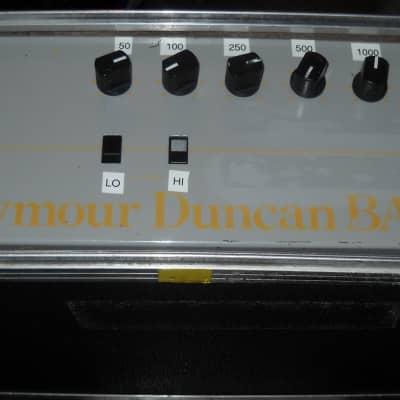 Rare ! Seymour Duncan Bass 400 1987  ( Prototype) w/case