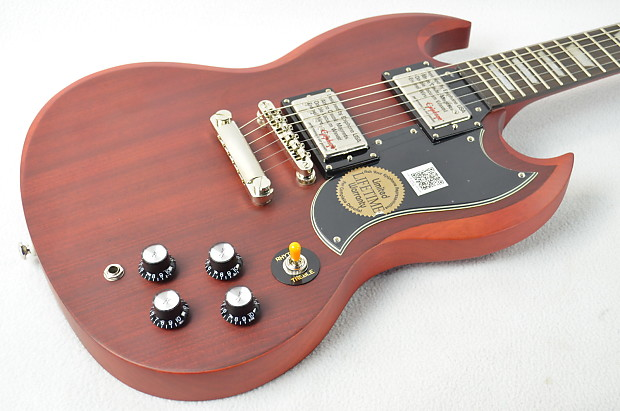 Used Epiphone Vintage Worn Cherry SG G-400 Electric Guitar