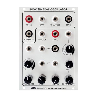 Serge by Random Source New Timbral Oscillator (NTO)