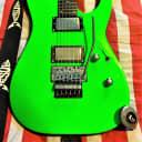 ESP LTD M-50FR Neon Green w/upgrades