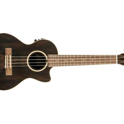 Lanikai Ziricote Tenor Acoustic-Electric Ukulele for sale