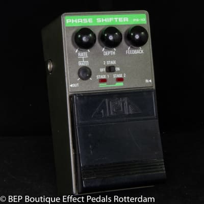 Aria PS-10 Dual Stage Phase Shifter mid 80's s/n 30402152 Japan