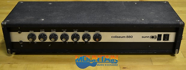 sunn amplifier parts