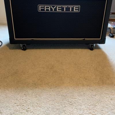 Fryette  212 Fatbottom Cab w/ Fane Custom Speakers 2019 Black Tolex for sale