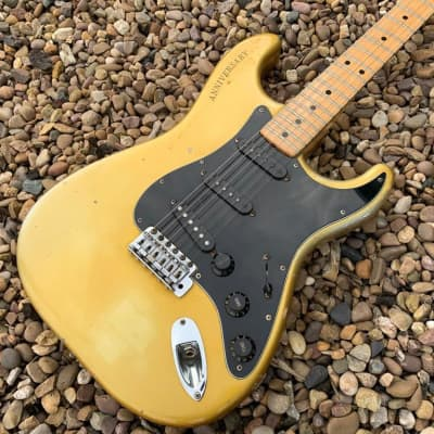 Fender 25th Anniversary Stratocaster Blonde for sale