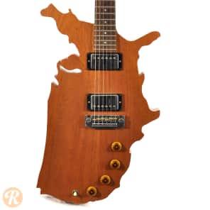 Gibson Map Guitar Natural 1983