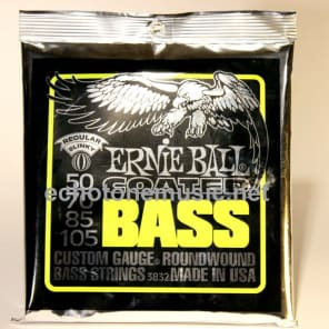 Ernie Ball 3832 Coated Regular Slinky Electric Bass String (50 - 105)