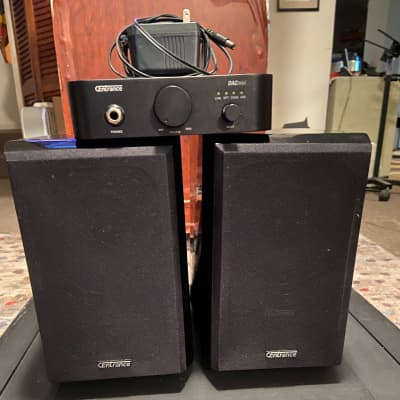 Centrance Dac Mini and Speakers