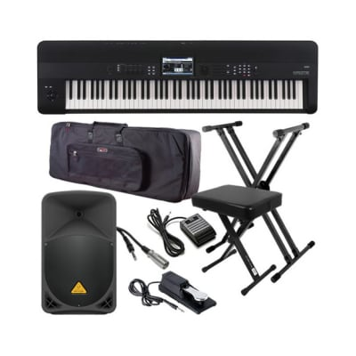 Korg KROME-88 Music Workstation COMPLETE STAGE BUNDLE