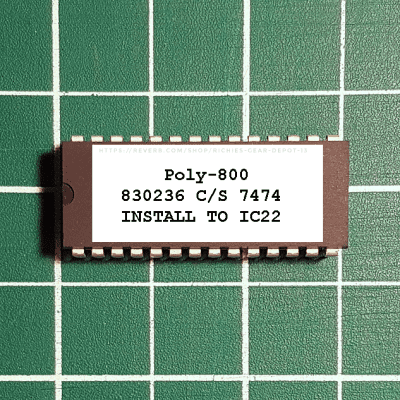 Korg Poly-800 OS 36 EPROM Firmware Upgrade KIT
