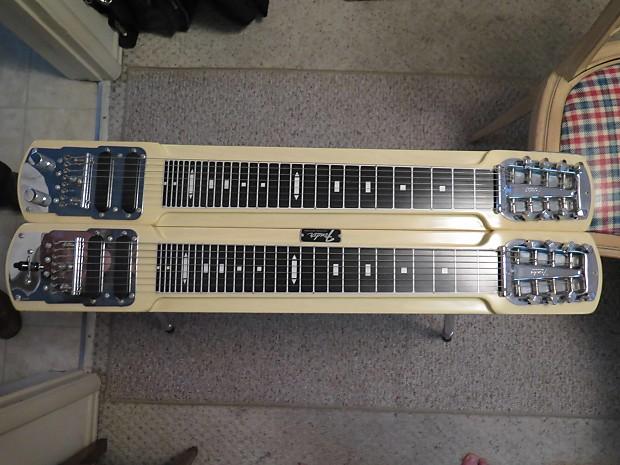 fender stringmaster double neck 8 string steel guitar mid reverb. Black Bedroom Furniture Sets. Home Design Ideas