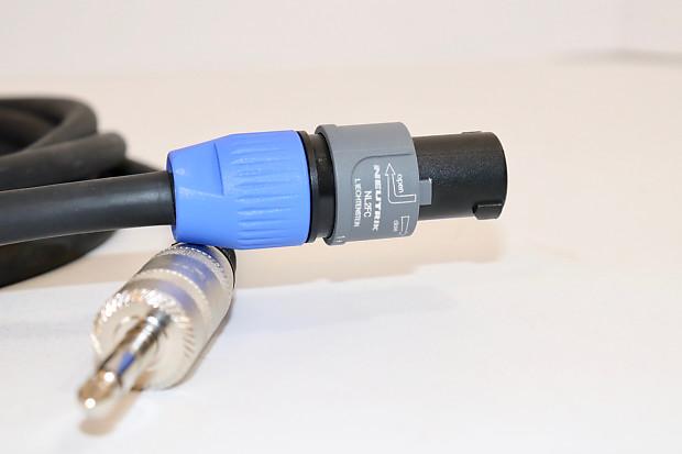 Live Wire Elite Series Speaker Cable - Speakon to 1/4\