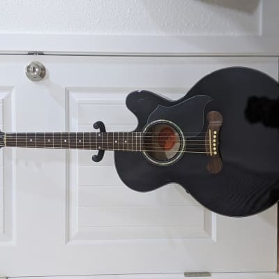 Gibson J-180 EC Deluxe 2004 Black for sale