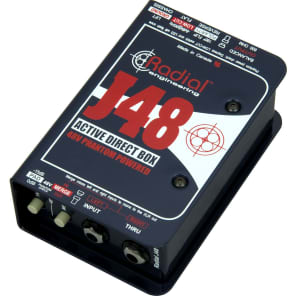Radial J48 Active Direct Box