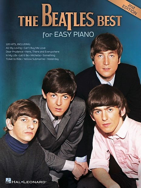 Beatles Best For Easy Piano 2 Nd Edition Sheet Music Book | Reverb