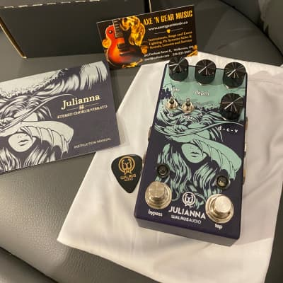 Walrus Audio NEW! Walrus Audio JULIANNA - Deluxe Chorus & Vibrato Premium Effects Pedal 2020 for sale