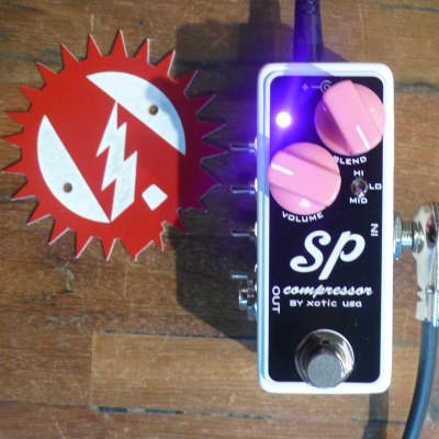 Brand New Alchemy Audio Modified Xotic SP Compressor Guitar Effects Pedal - Authorized Dealer!