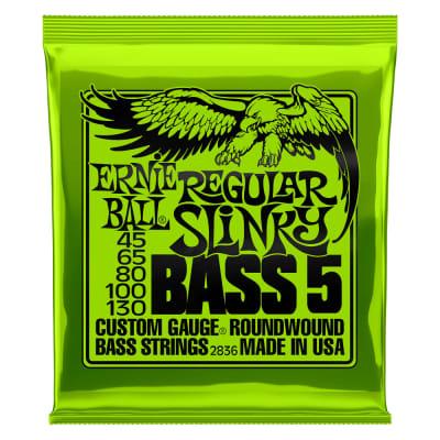 Ernie Ball 2836 Regular Slinky Bass 5 Strings - 45-130