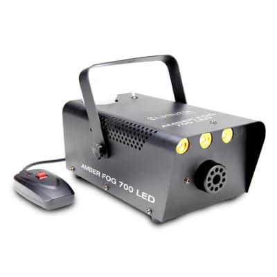 Eliminator AMBERFOG700LED 700 Watt Fog Machine with 3-3 Watt LEDs