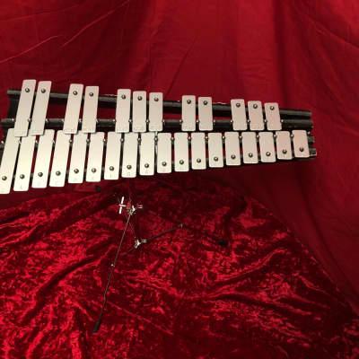 Yamaha Xylophone G-C 30 Key Bell Set metal
