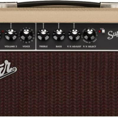 "Fender Limited Edition Super Champ X2 ""Blonde Cajun"" 2-Channel 15-Watt 1x10"" Guitar Combo 2020"