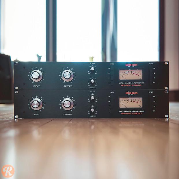 warm audio wa76 limiting amplifier pair reverb. Black Bedroom Furniture Sets. Home Design Ideas