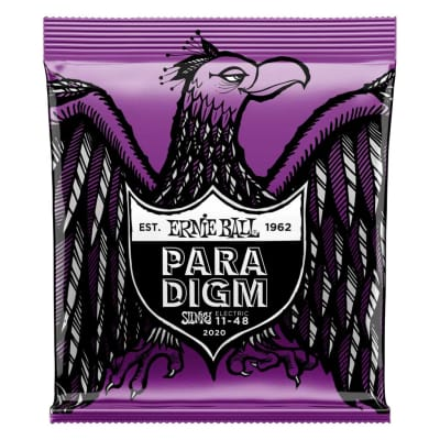 Ernie Ball Power Slinky Paradigm 11-48 Nickel Wound Electric Guitar Strings
