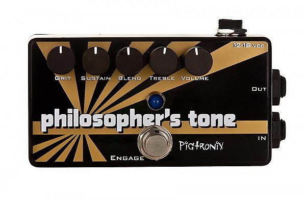 Pigtronix Philosopher  U00d5 U00cc U00f6s Tone Compressor Sustainer