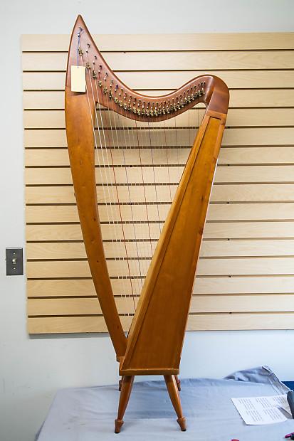 Stoney End 29 String Folk Harp w/gig bag   Reverb
