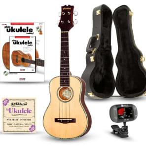 Mitchell MU70 12-Fret Concert Ukulele Deluxe Bundle for sale